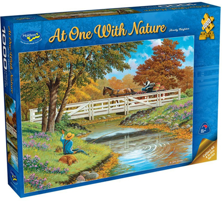 Holdson's 1000 Piece Jigsaw Puzzle:  At One With Nature - Howdy Neighbour