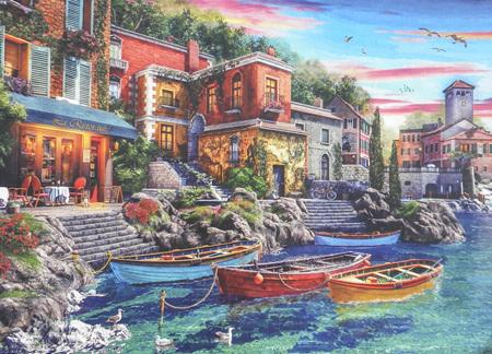 Holdson's 1000 Piece Jigsaw Puzzle:  Como Sunset