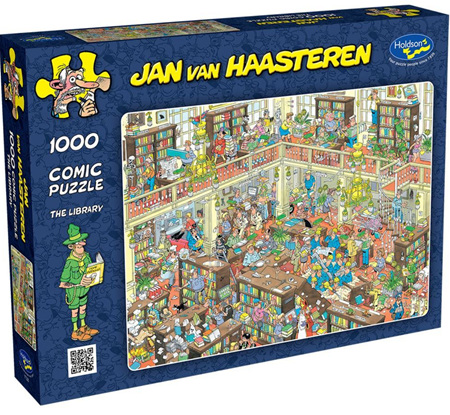 Holdson's 1000 Piece Jigsaw Puzzle: Jan Van Haasteren - The Library