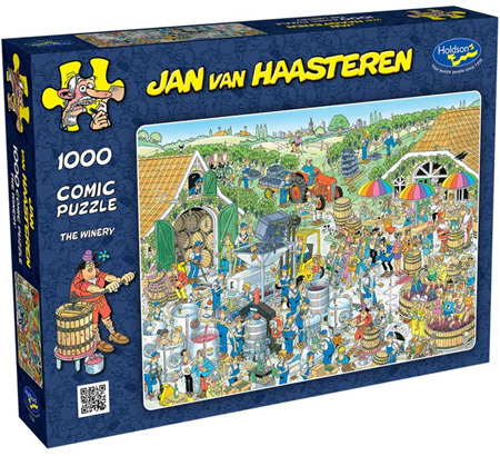Holdson's 1000 Piece Jigsaw Puzzle: Jan Van Haasteren - The Winery