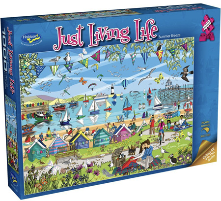 Holdson's 1000 Piece Jigsaw Puzzle:  Just living Life - Summer Breeze