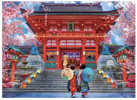 Holdson's 1000 Piece Jigsaw Puzzle:  Spring Sakura