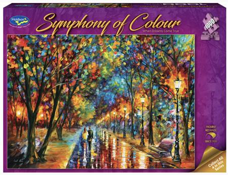 Holdson's 1000 Piece Jigsaw Puzzle:  Symphony Of Colour - When Dreams Come True
