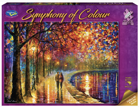 Holdson's 1000 Piece Jigsaw Puzzle:  Symphony Of Colour - Spirits By The Lake