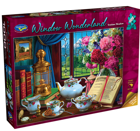 Holdson's 1000 Piece Jigsaw Puzzle:  Teatime Meadow
