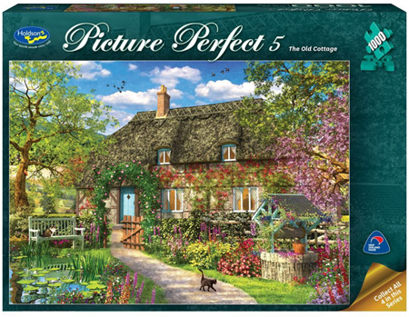 Holdson's 1000 Piece Jigsaw Puzzle:  The Old Cottage