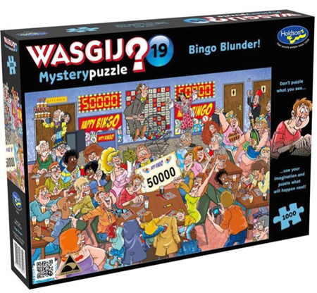 Holdson's 1000 Piece Wasgij Jigsaw Puzzle - Bingo Blunder