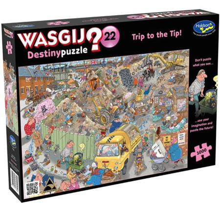 Holdson's 1000 Piece Wasgij Jigsaw Puzzle - Trip To The Tip