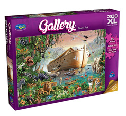 Holdson's 300XL Piece Jigsaw Puzzle: Noah's Ark