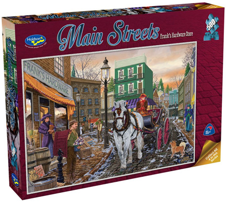 Holdson's 500 Piece Jigsaw Puzzle: Main Streets - Frank's Hardware
