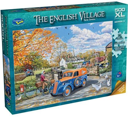 Holdson's 500XL Piece Jigsaw Puzzle: English Village S3 - FARM SERVICE