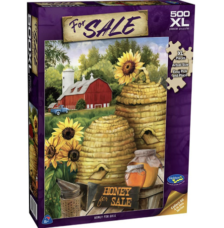 Holdson's 500XL Piece Jigsaw Puzzle: Honey For Sale
