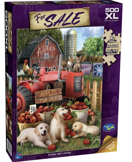 Holdson's 500XL Piece Jigsaw Puzzle: Official Taste Testers