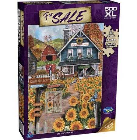 Holdson's 500XL Piece Jigsaw Puzzle: The Sunflower Inn