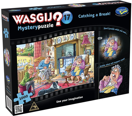 Holdson's Wasgij 1000 Piece Jigsaw Puzzle: Catching A Break