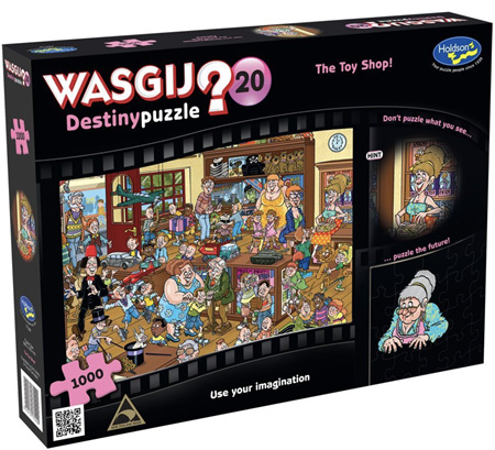 Holdson's Wasgij 1000 Piece Jigsaw Puzzle: The Toy Shop