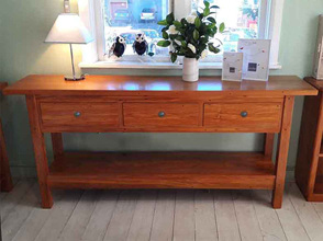 Bexton Hall Table Three Drawers