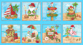 Holiday Beach Blocks Blue 958375