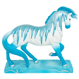 Holiday Ice painted pony