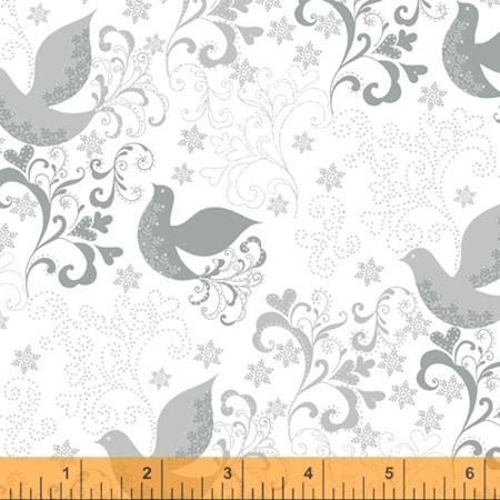 Holiday village Birds Silver 51775M-2