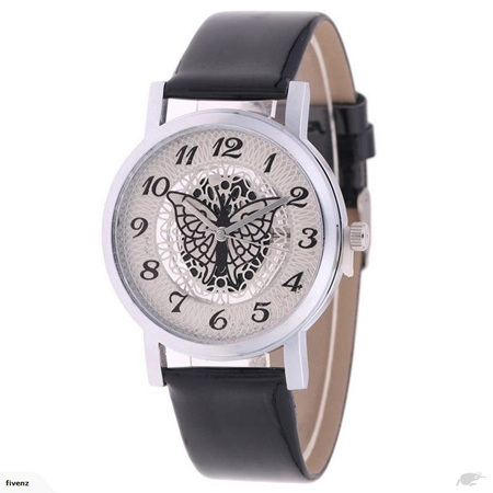 Hollow Butterfly Ladies Watch *Black*