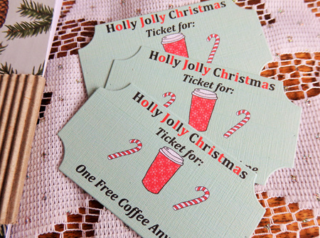 Holly Jolly 'One Free Coffee' Tickets