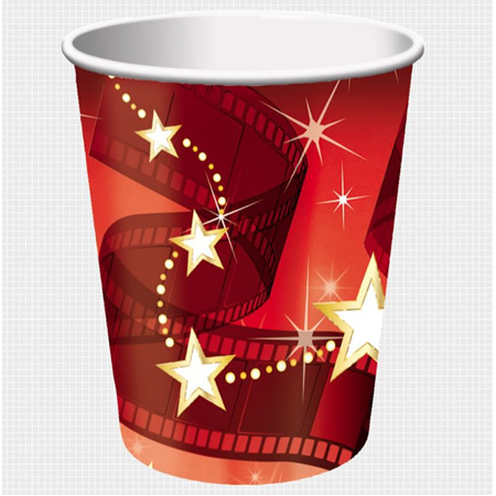 Hollywood cups pack of 8