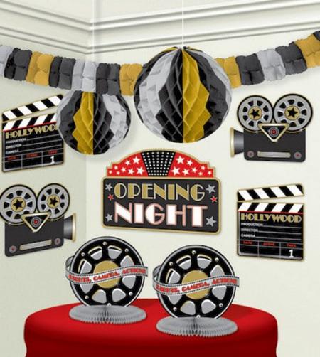 Hollywood room decorating kit