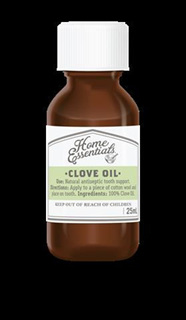 Home Essentials Clove Oil  25ml  Click and Collect Only