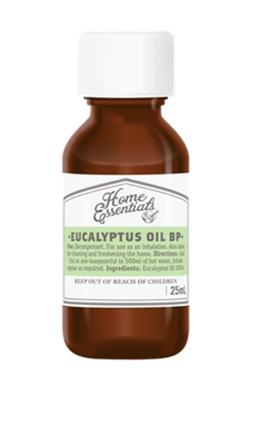 Home Essentials Eucalyptus Oil 25 ml