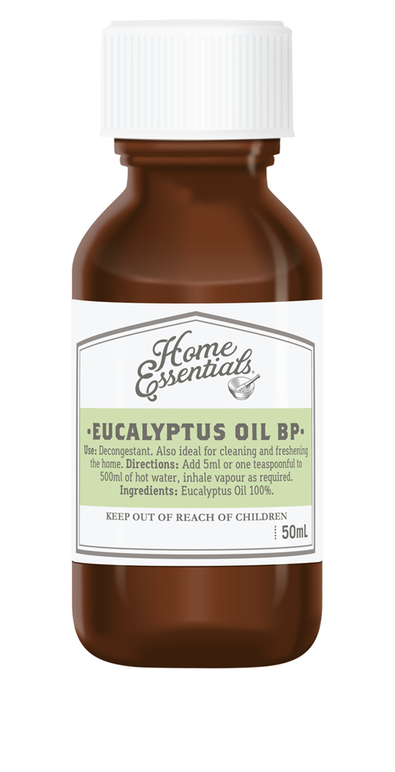 Home Essentials Eucalyptus Oil  50ml