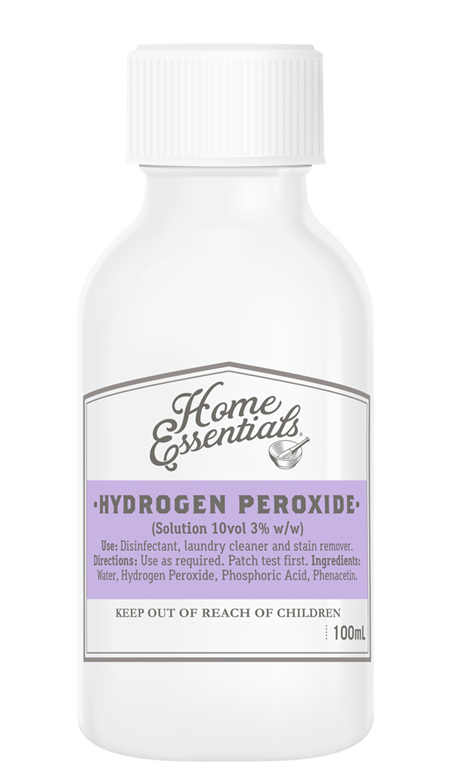 Home Essentials Hydrogen Peroxide (Solution 10vol 3% W/W) 100ml