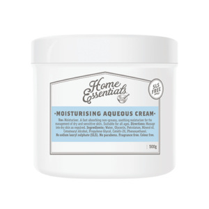 Home Essentials Moisturising Aqueous Cream 500g