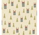 Home for Christmas - Mini Houses on Cream
