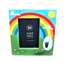 Home Sweet Home Photo Frame: Rainbow Sheep