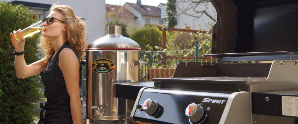 Impress your guests with your own beer