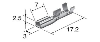Honda  air temp socket 3mm