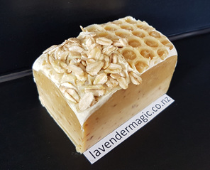 Honey and Oatmeal handmade soap