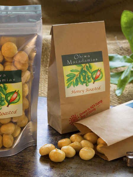 Honey Roasted Macadamia Nuts - 200g