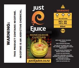 HoneyComb Custard