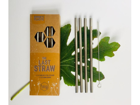 Honeywrap Stainless Steel Straws