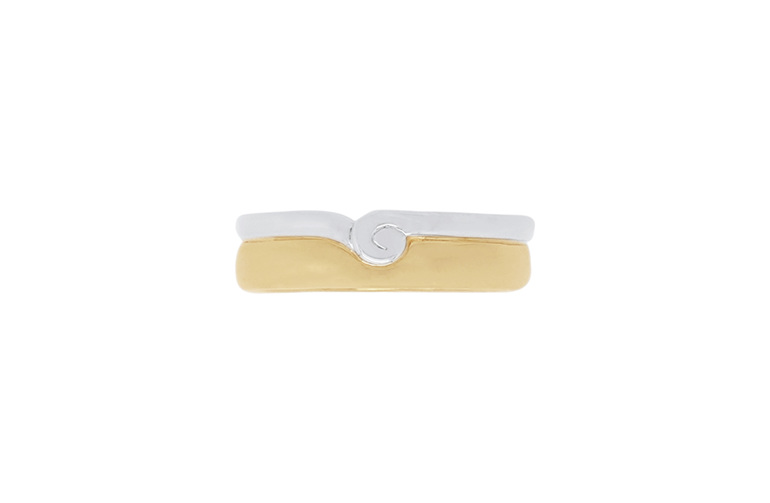 Hononga - mens wedding ring from The Narrative Collection