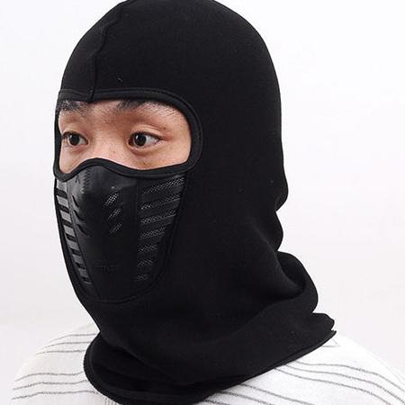Hooded Mask - BLACK