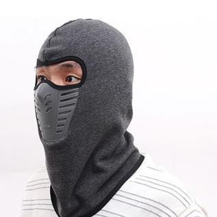 Hooded Mask - GREY