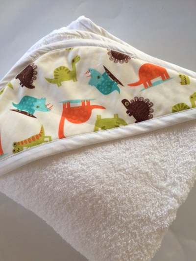 Hooded Towel - Dinosaur