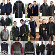 Hoodies, Jackets and Vests