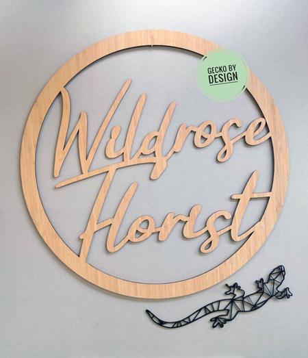 Hoop Signage
