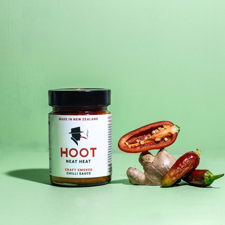 Hoot Sauce Chilli Pepper Paste New Zealand Hot Sauce