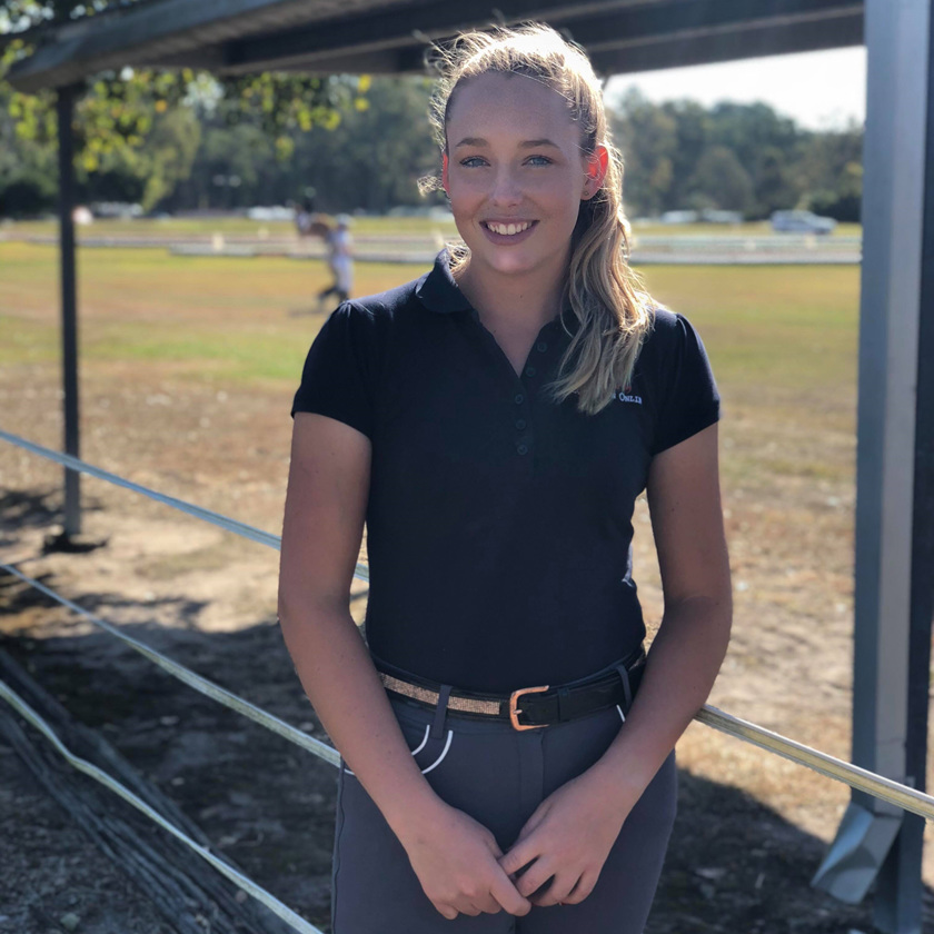Hope Beerling - Queensland Dressage Young Rider Squad 2018 and 2019