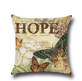 HOPE Butterfly Cushion Cover